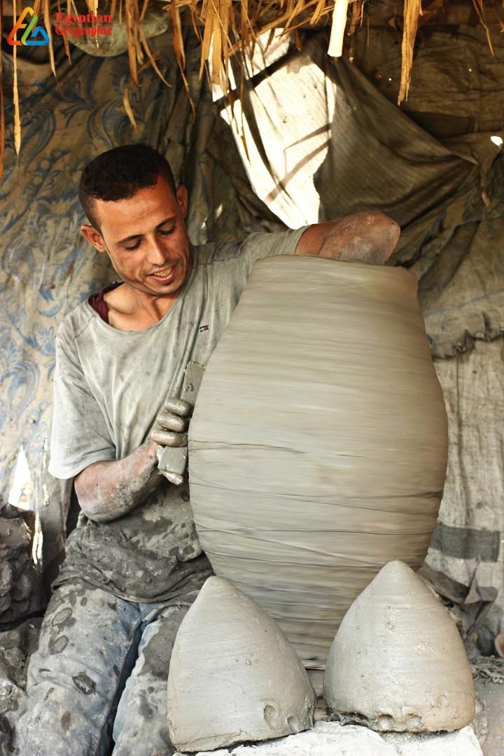 صناعة الفخار في مصر