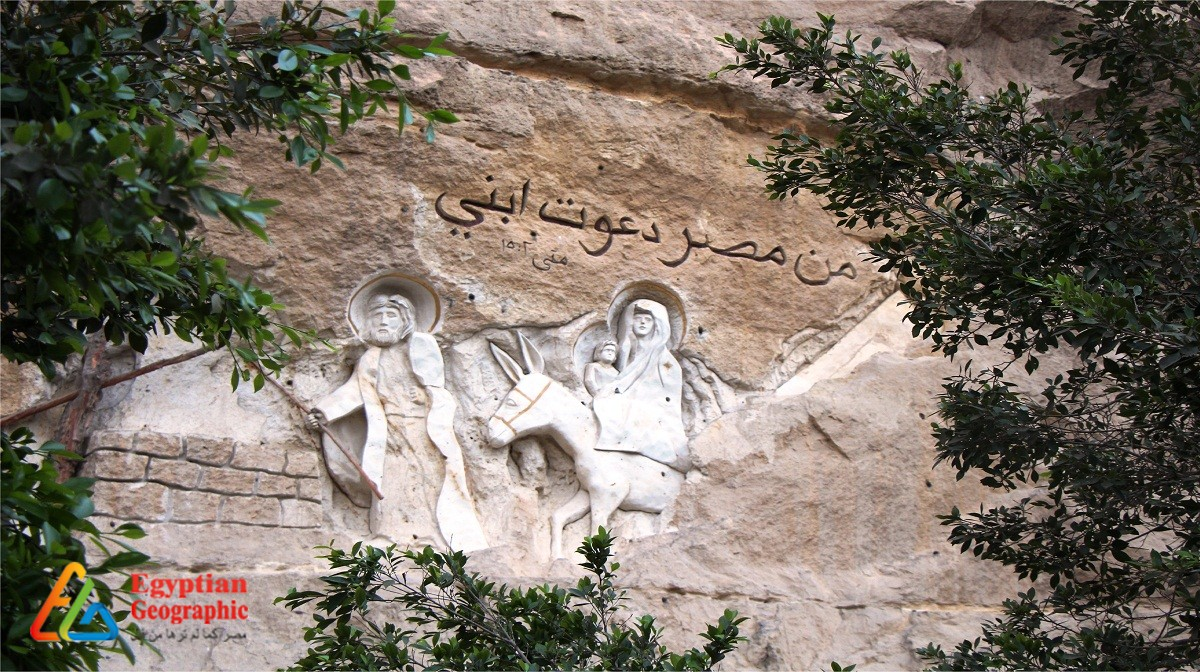 CEgypt on the walls of the monasteries