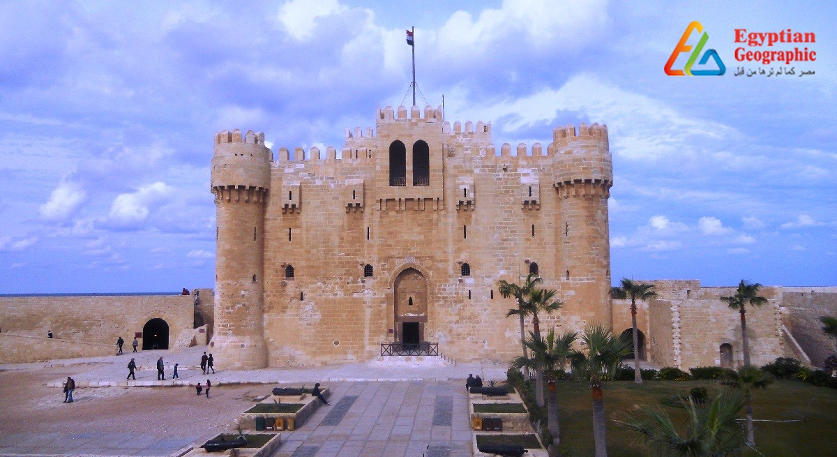 CQaitbay Citadel..North Coast Guard ..The heir apparent to one of the seven wonders of the world