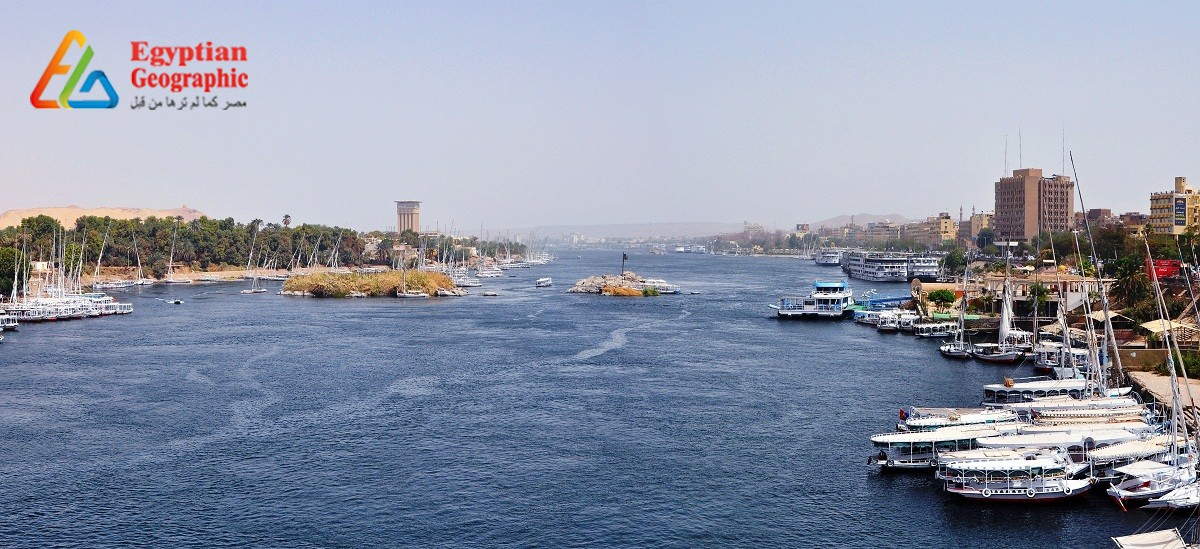 The Nile River...The symbol of civilization that our ancestors called god