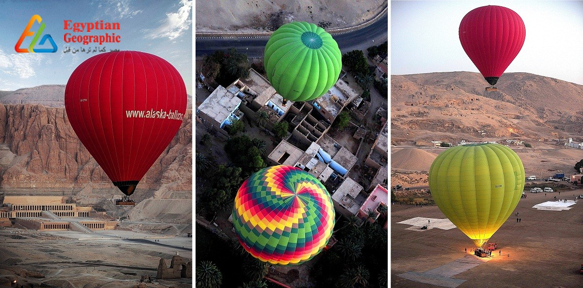 Luxor ranks second in hot air balloon rides