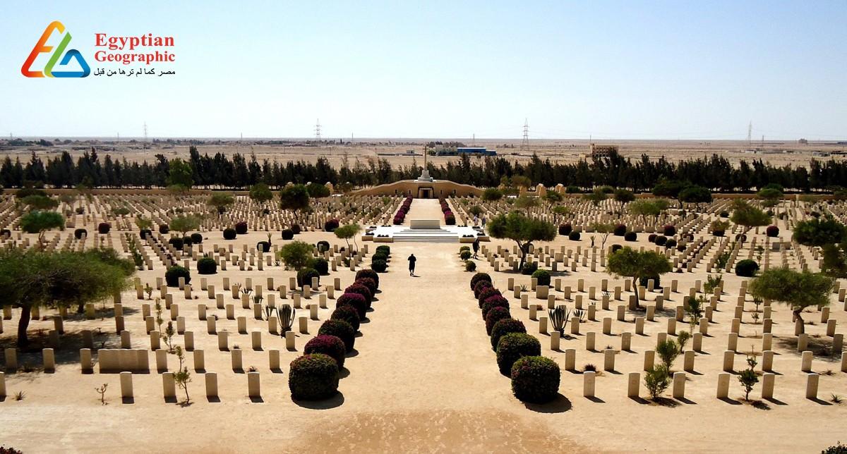 Cمقابر العلمين.. شاهد علي أهم معارك الحرب العالمية الثانية