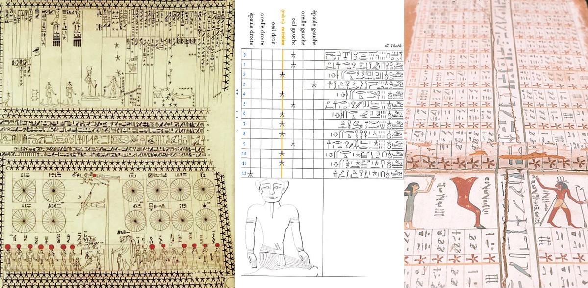 Cالمصريون القدماء عرفوا الفلك وعلوم الكواكب منذ ستة آلاف سنة