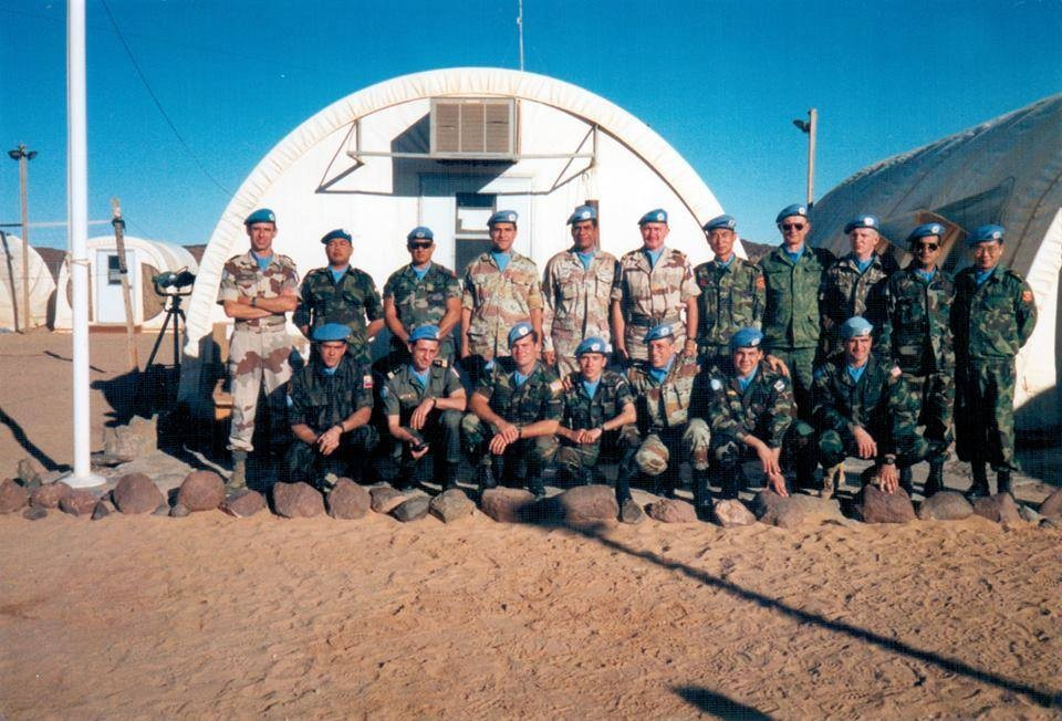 صورة جماعيه لقيادات الناتو