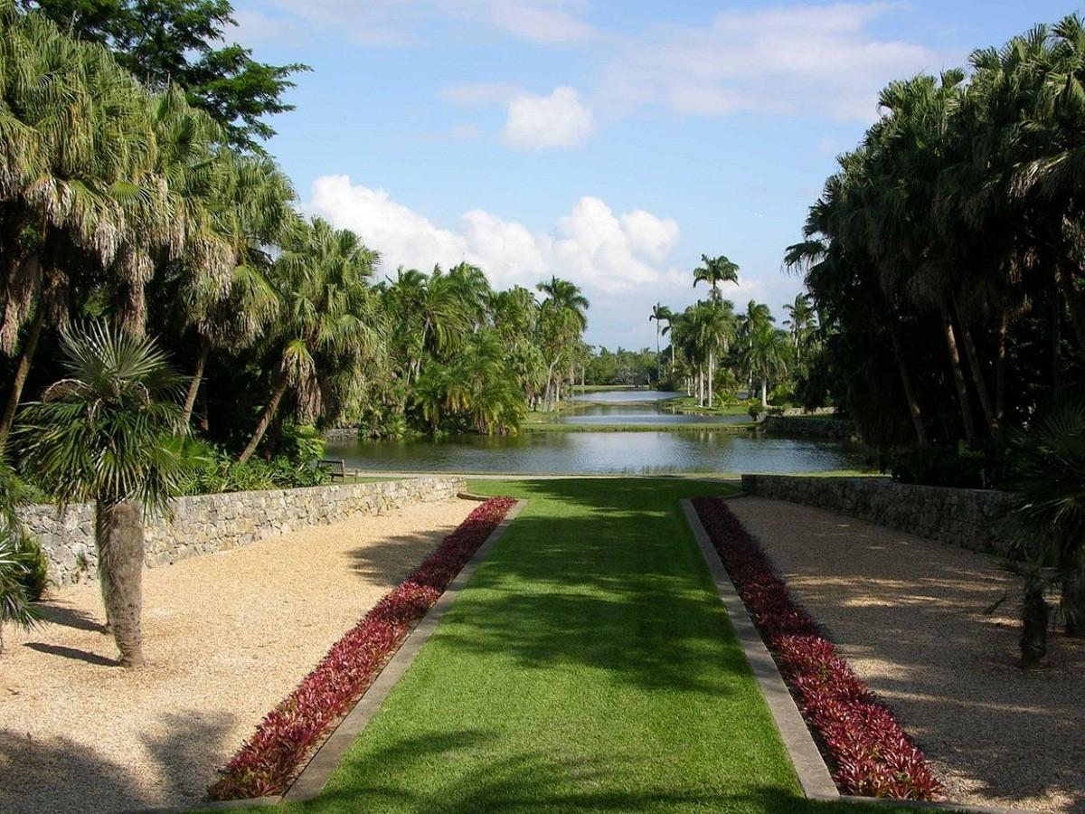 حديقة التجارب النبانية