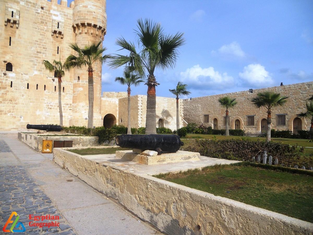 Qaitbay Citadel..North Coast Guard