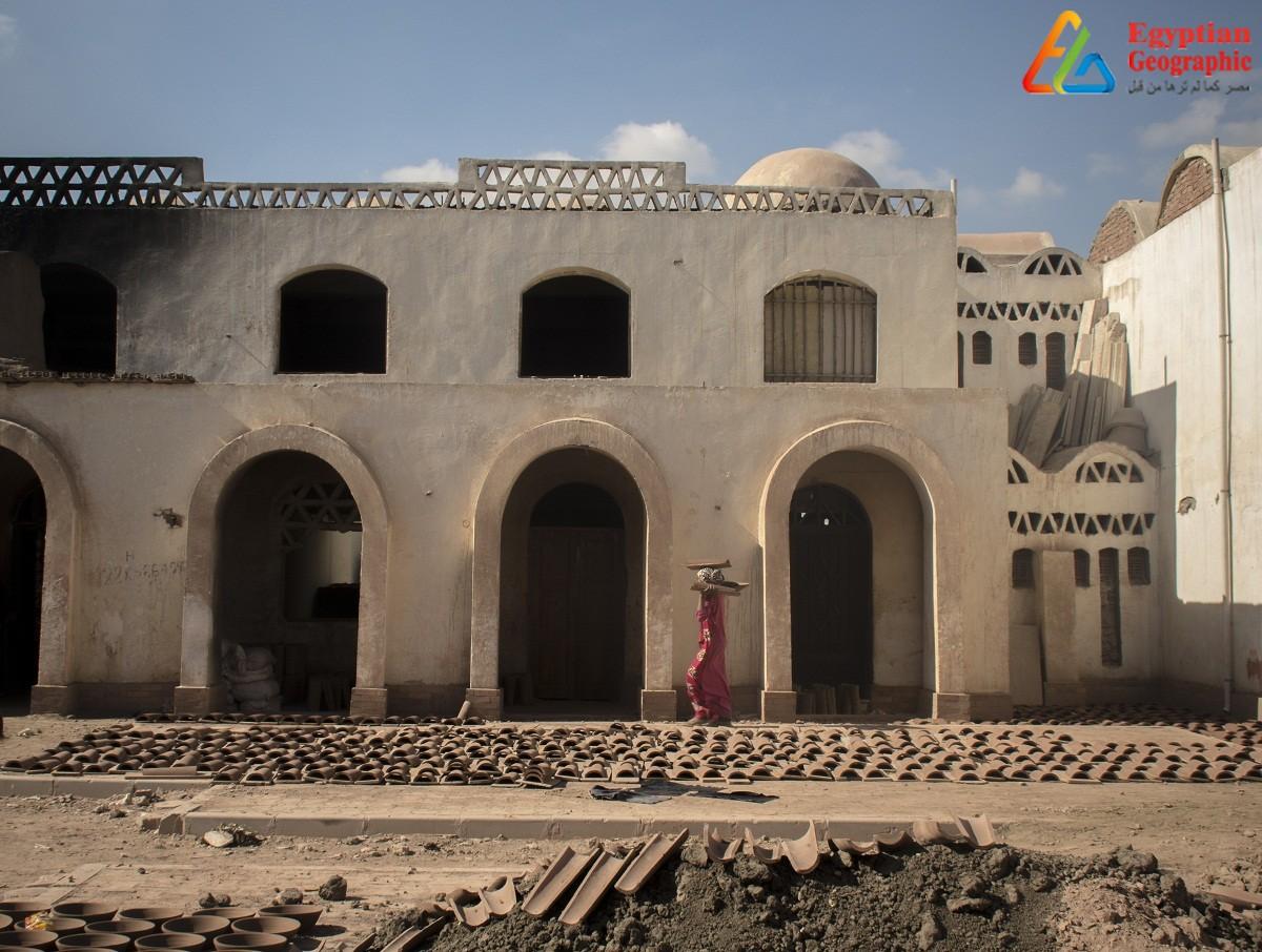قرية الفواخير المصرية بقرية بطن البقرة