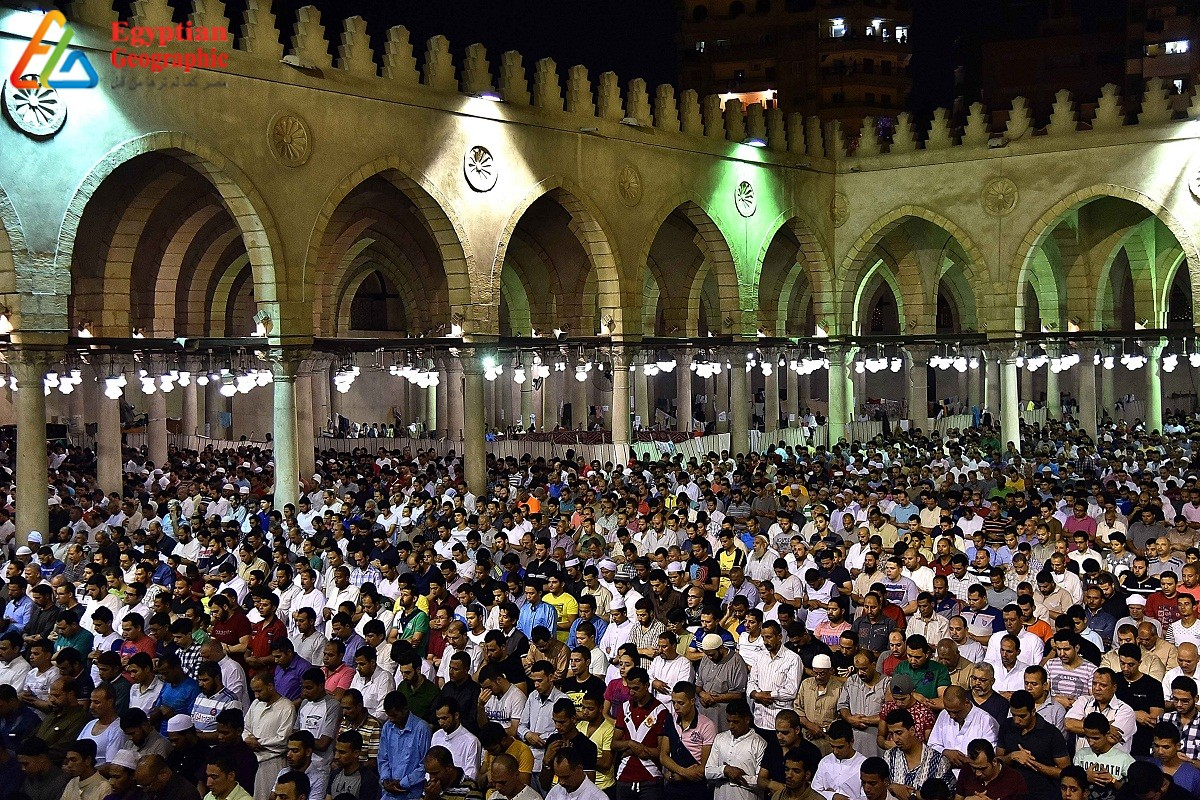 mosque Amr Ibn Al-Aas