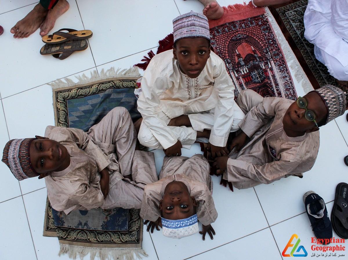 صلاة العيد بالجامع الأزهر
