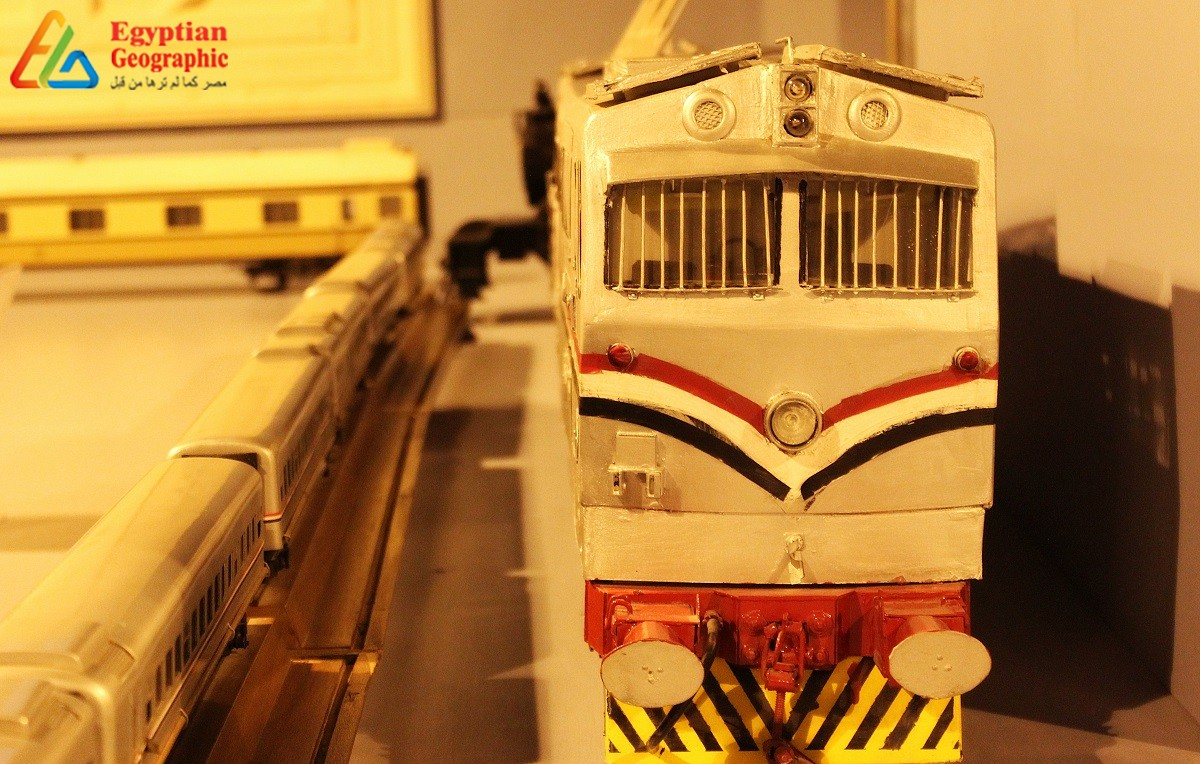 Egyptian Railways Museum... Showing the history of transports