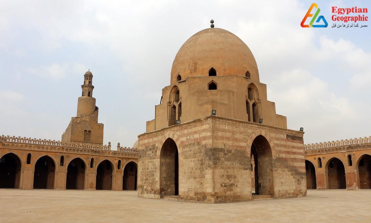 ساحة مسجد ابن طولون