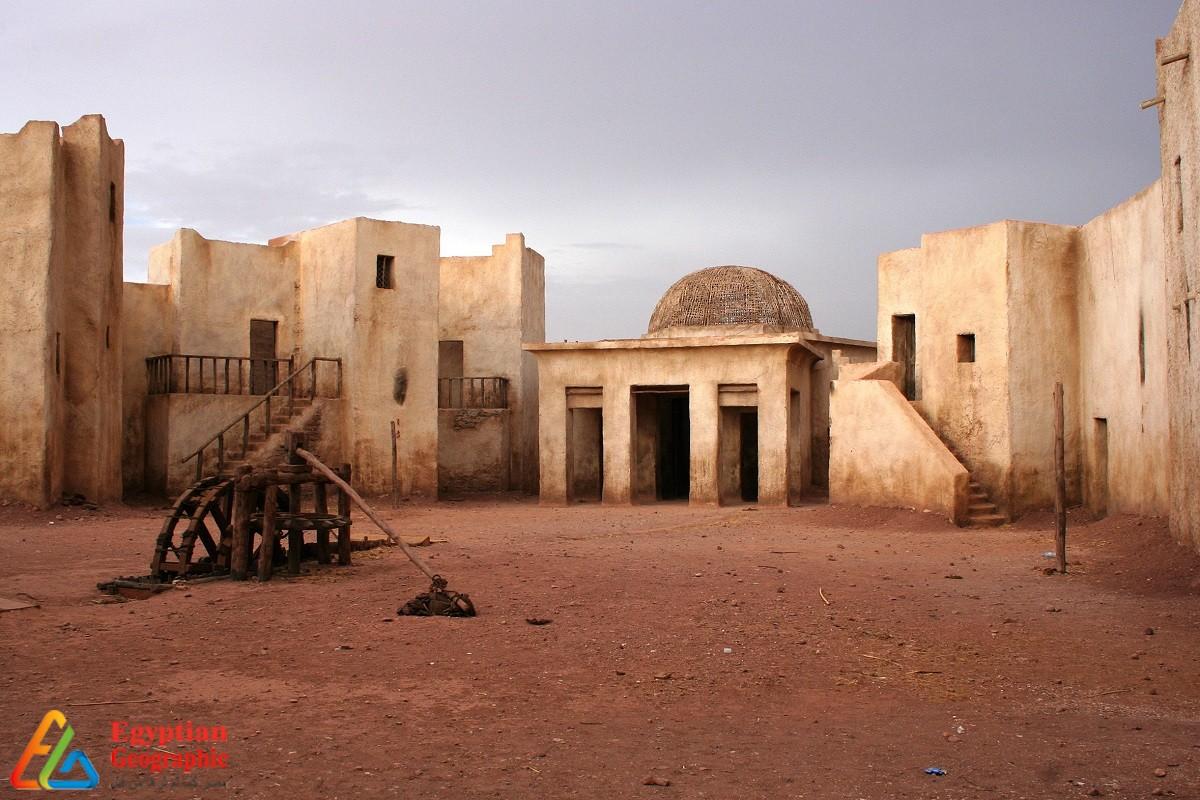 مدخل استديوهات مدينة ورزازات