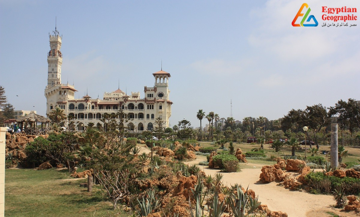 Montaza Palace The meeting place of three civilizations