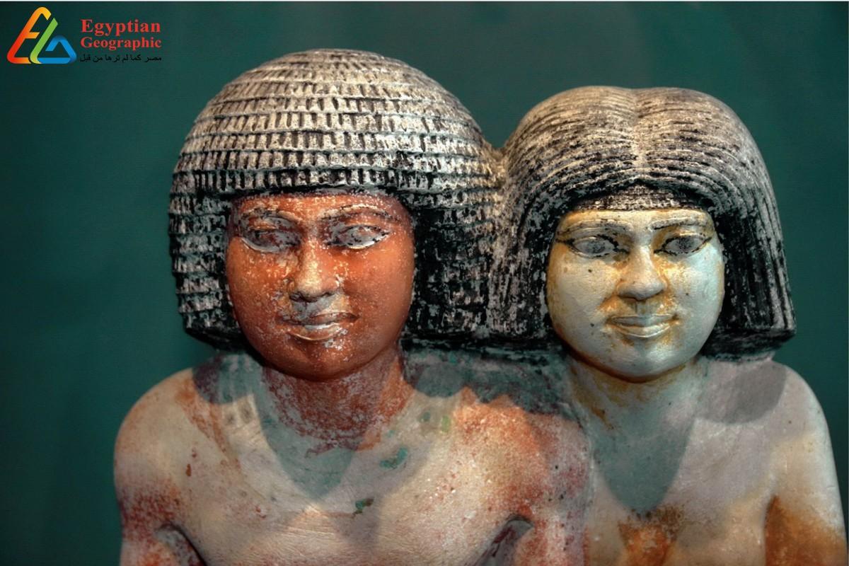 القزم سنب وأسرته بالمتحف المصري