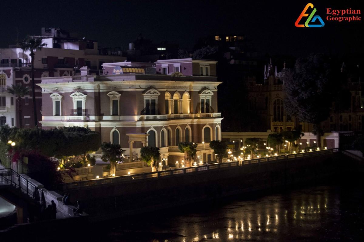 واجهة قصر عائشة فهمي والطراز المعماري الإيطالي