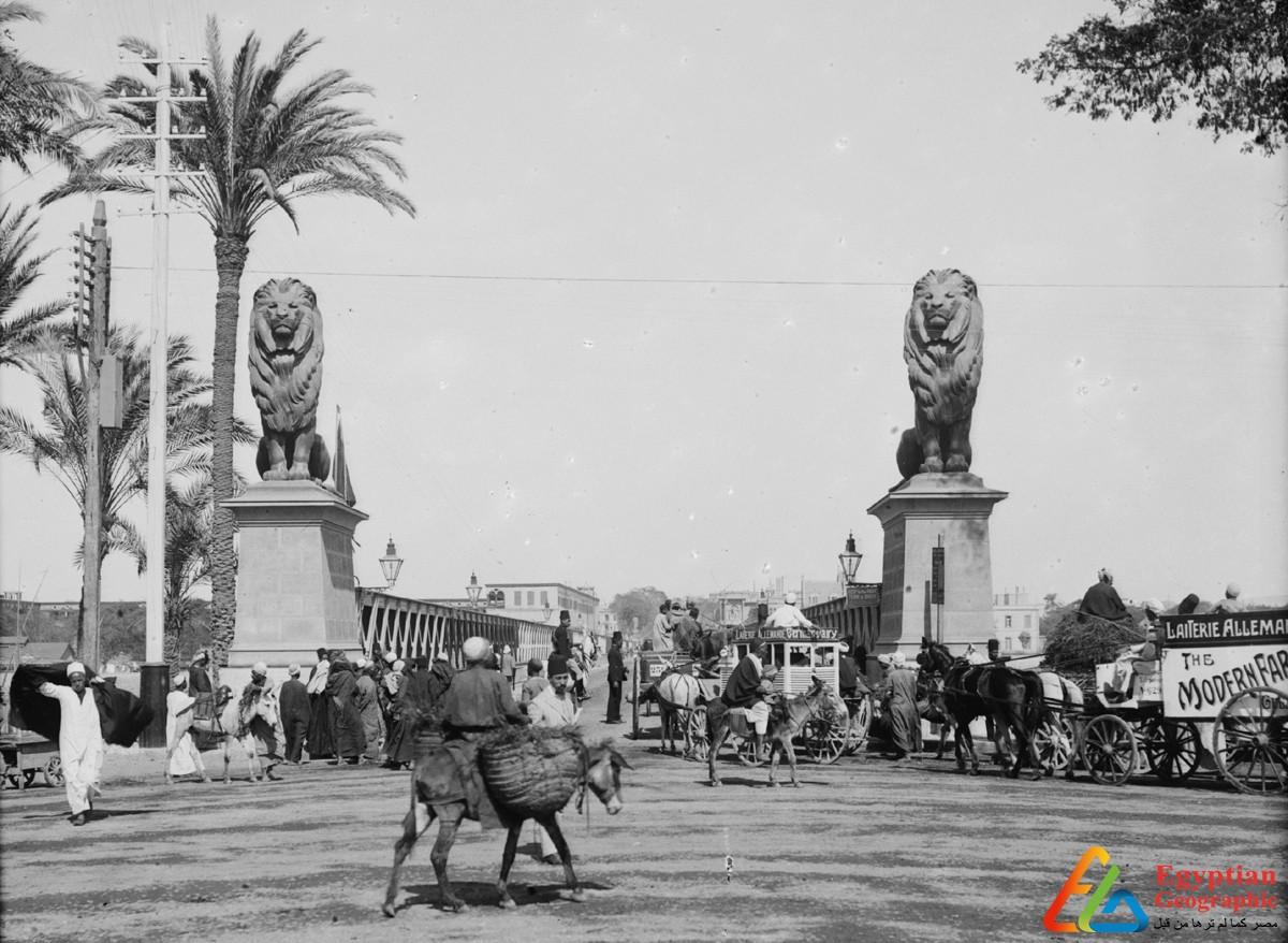 lions Qasr El Nil Bridge