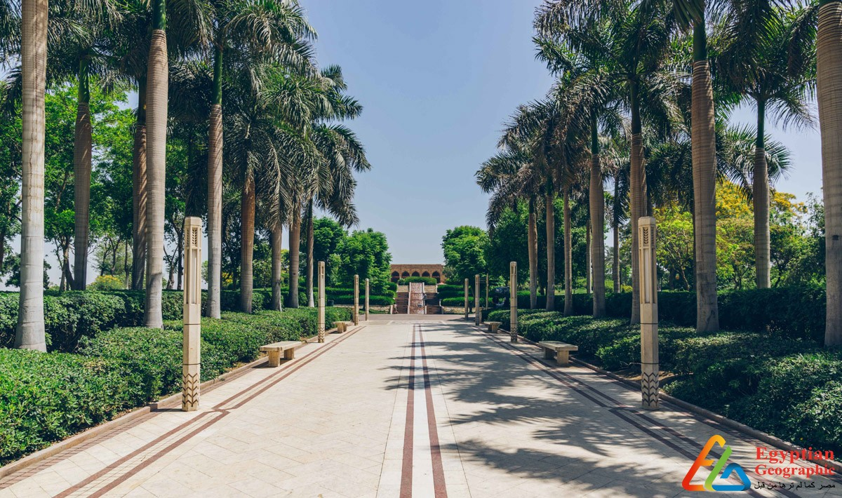حديقة الأزهر واحة في وسط القاهرة