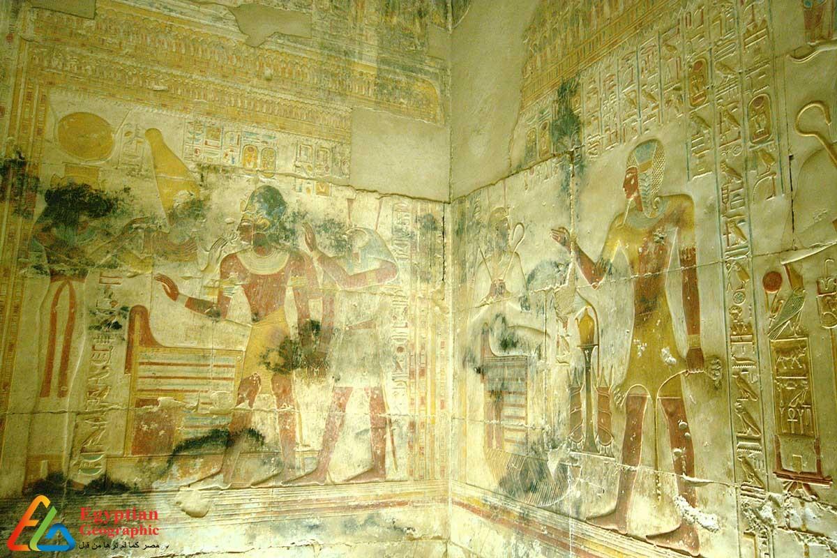 المعبد الجنائزي لسيتي الأول بأبيدوس