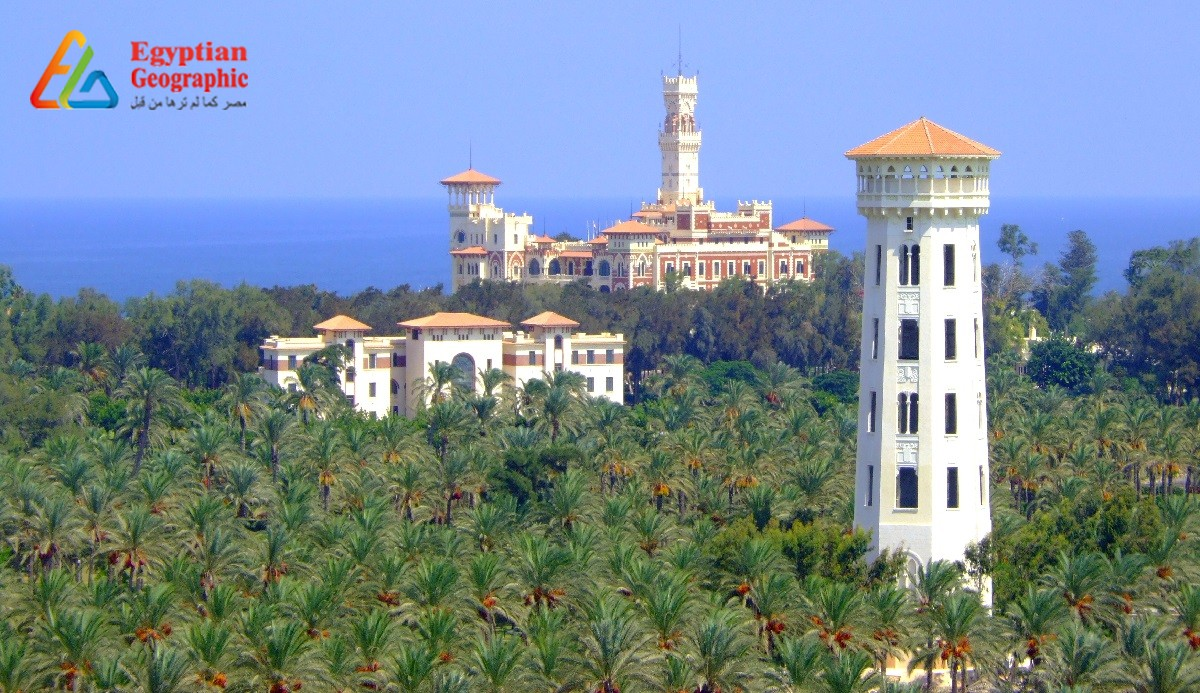 CMontaza Palace: that combines the Byzantine Architecture and the Gothic and Islamic