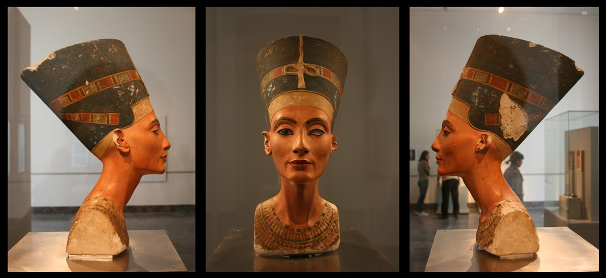 Germany recognizes: The bust of of Nefertiti, the king of Egypt