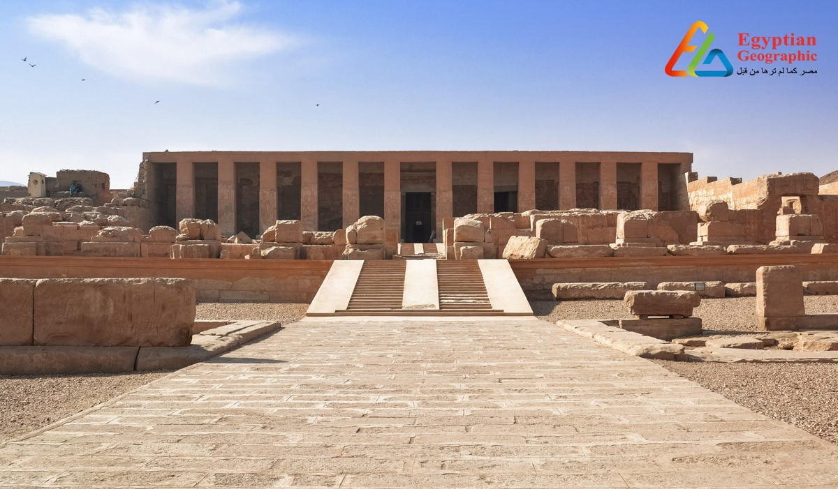 Cمعبد أبيدوس: قصة العشق الأبدي لإيزيس وأوزوريس